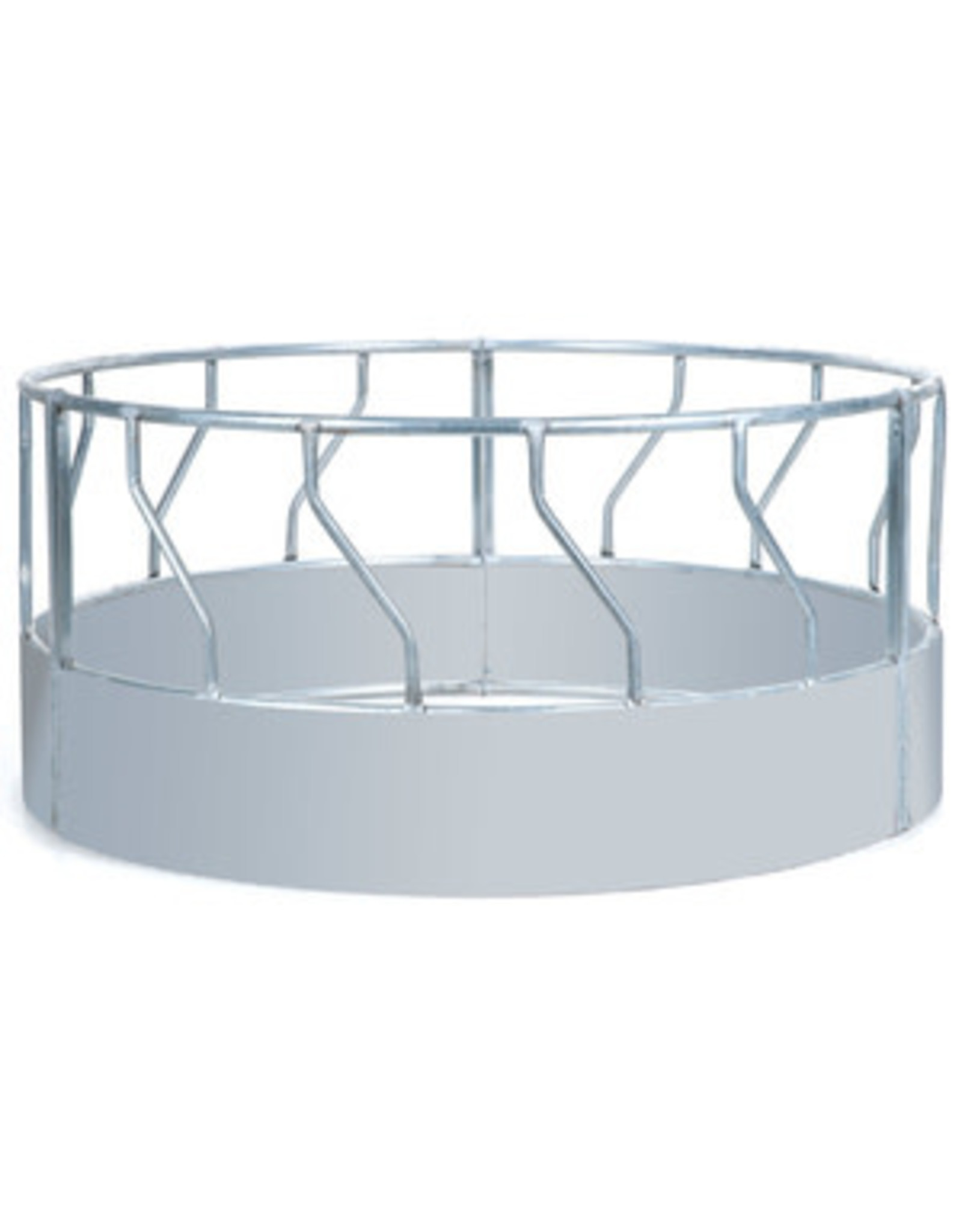Bale Feeder, Hay Ring with solid metal bottom