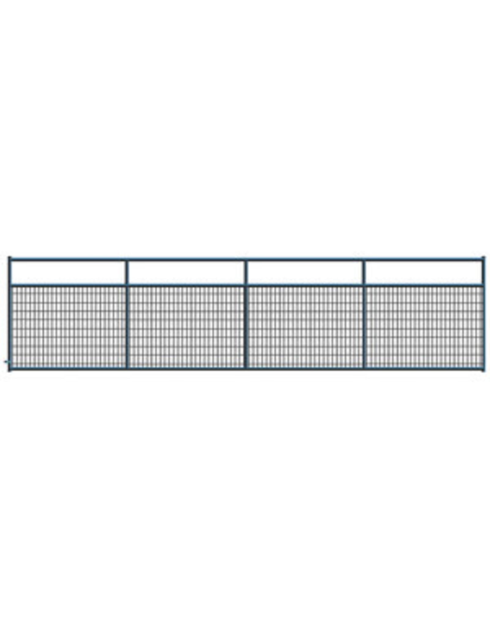 Gate, Black 2x4 Wire Fill 16'