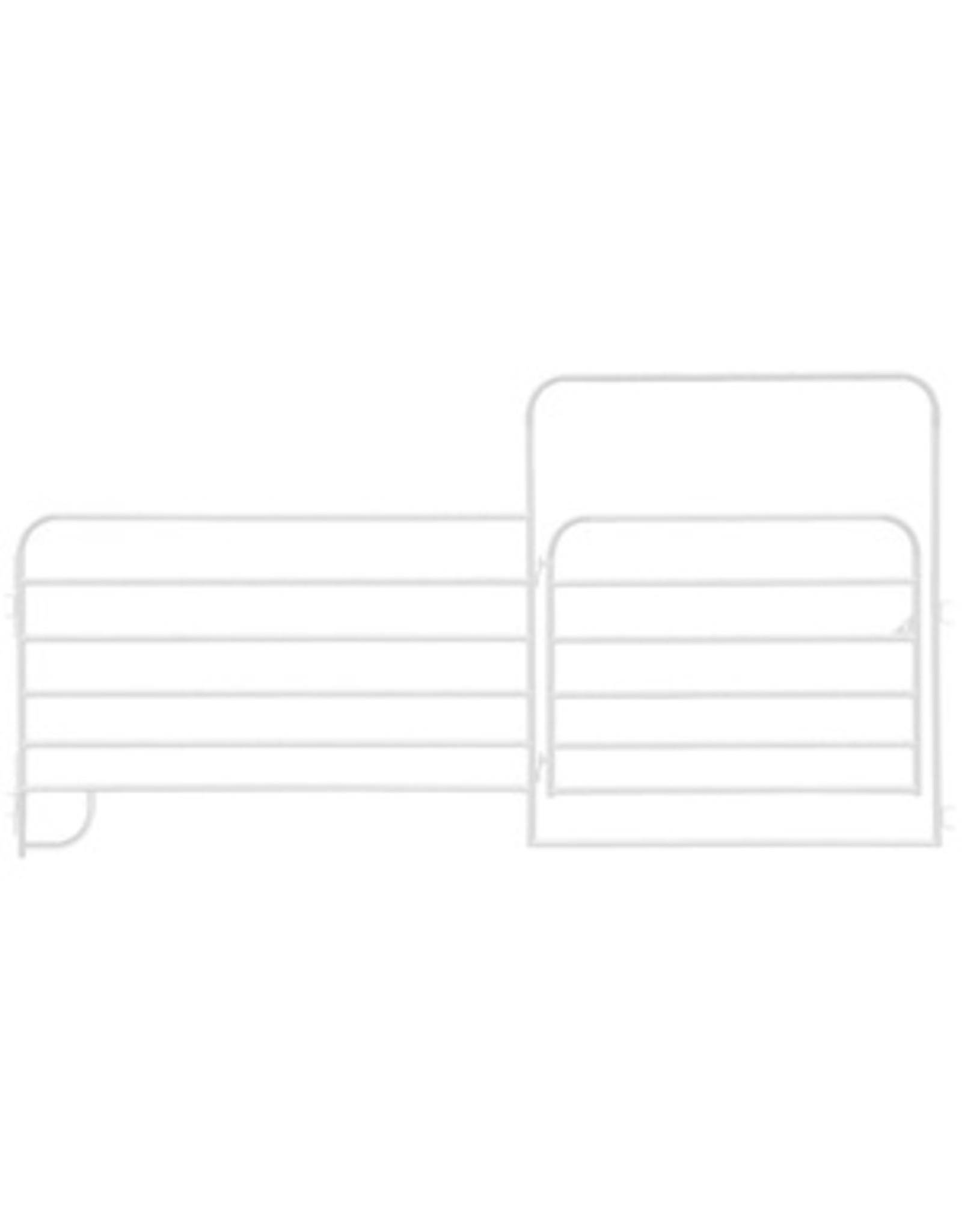 "HD 2"" Corral Panel 12' w/6' Gate"