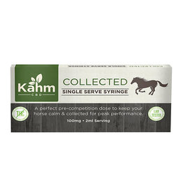 Kahm Collected 100mg CBD Equine Single Serve Syringe