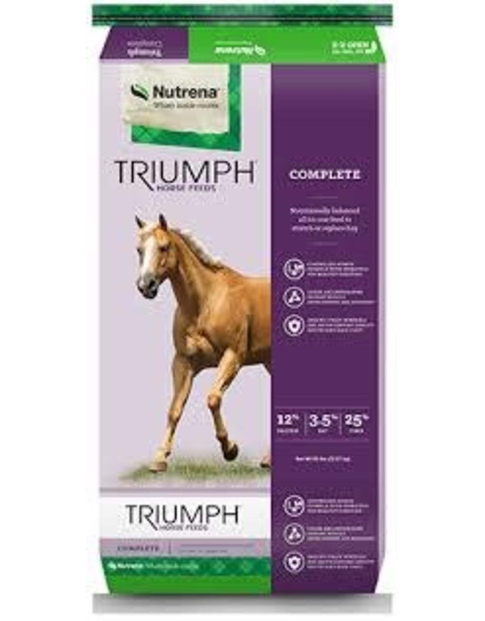 Cargill Triumph Complete Pellet.    12/3.5/25