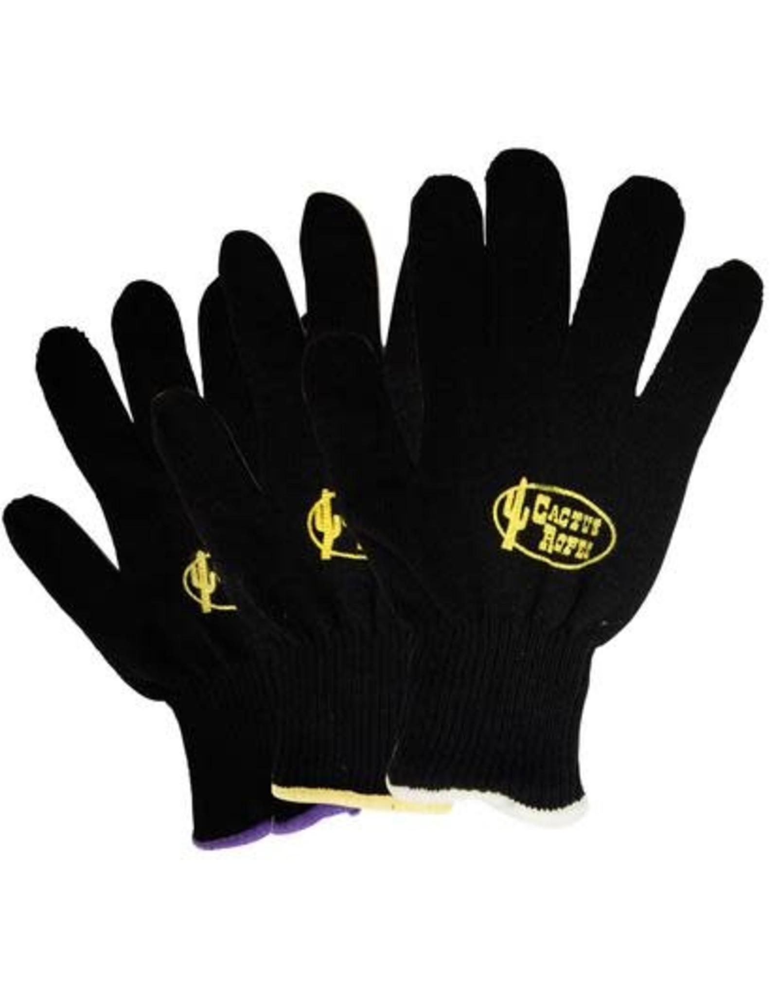 Black Cactus Roping Glove Med