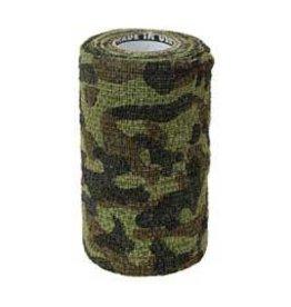 """Powerflex 4"""" Woodland Camo Vet Wrap"""