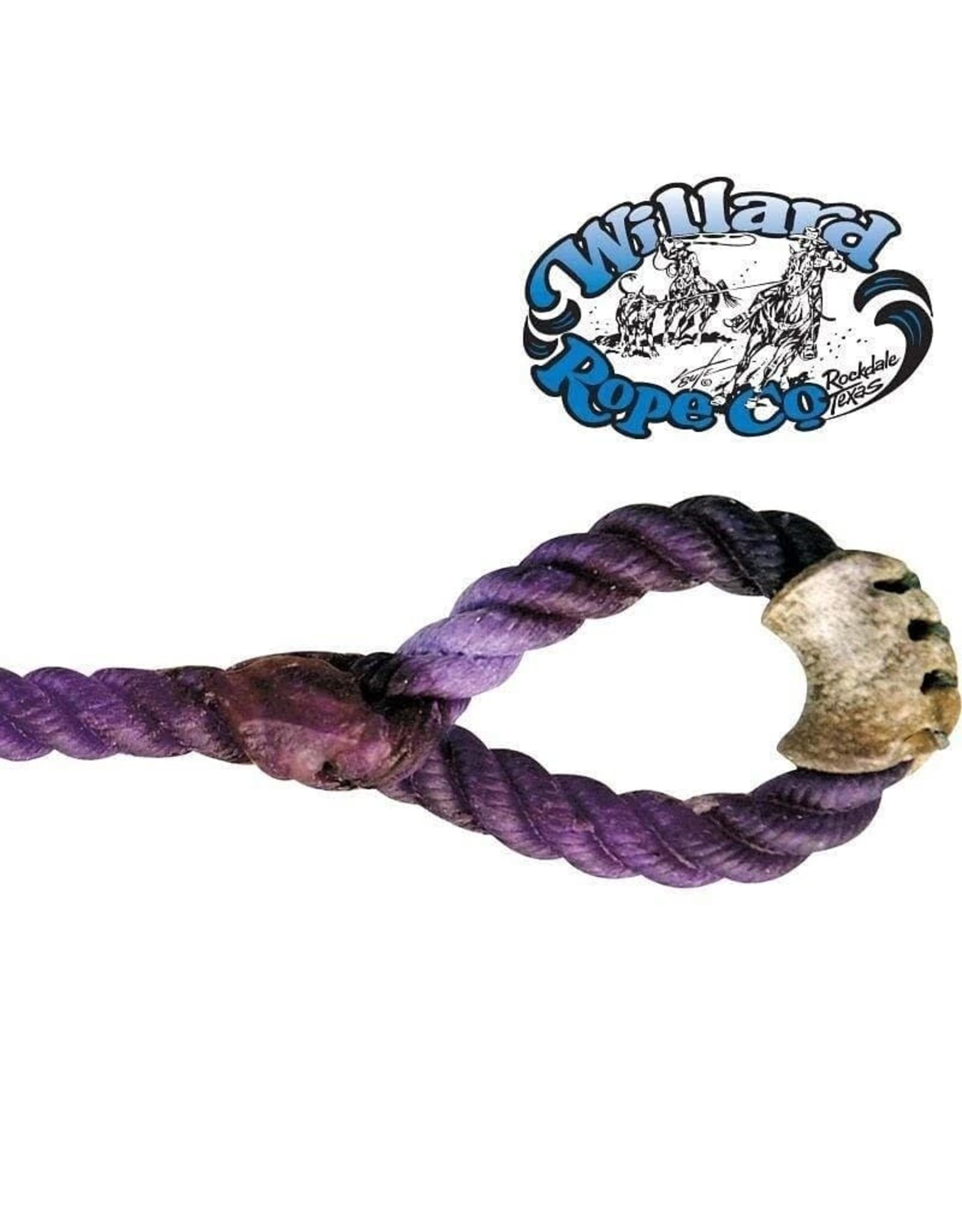 Willard 5/16MHV Willard Black Tail Calf String 5/16 Med-Hard Violet