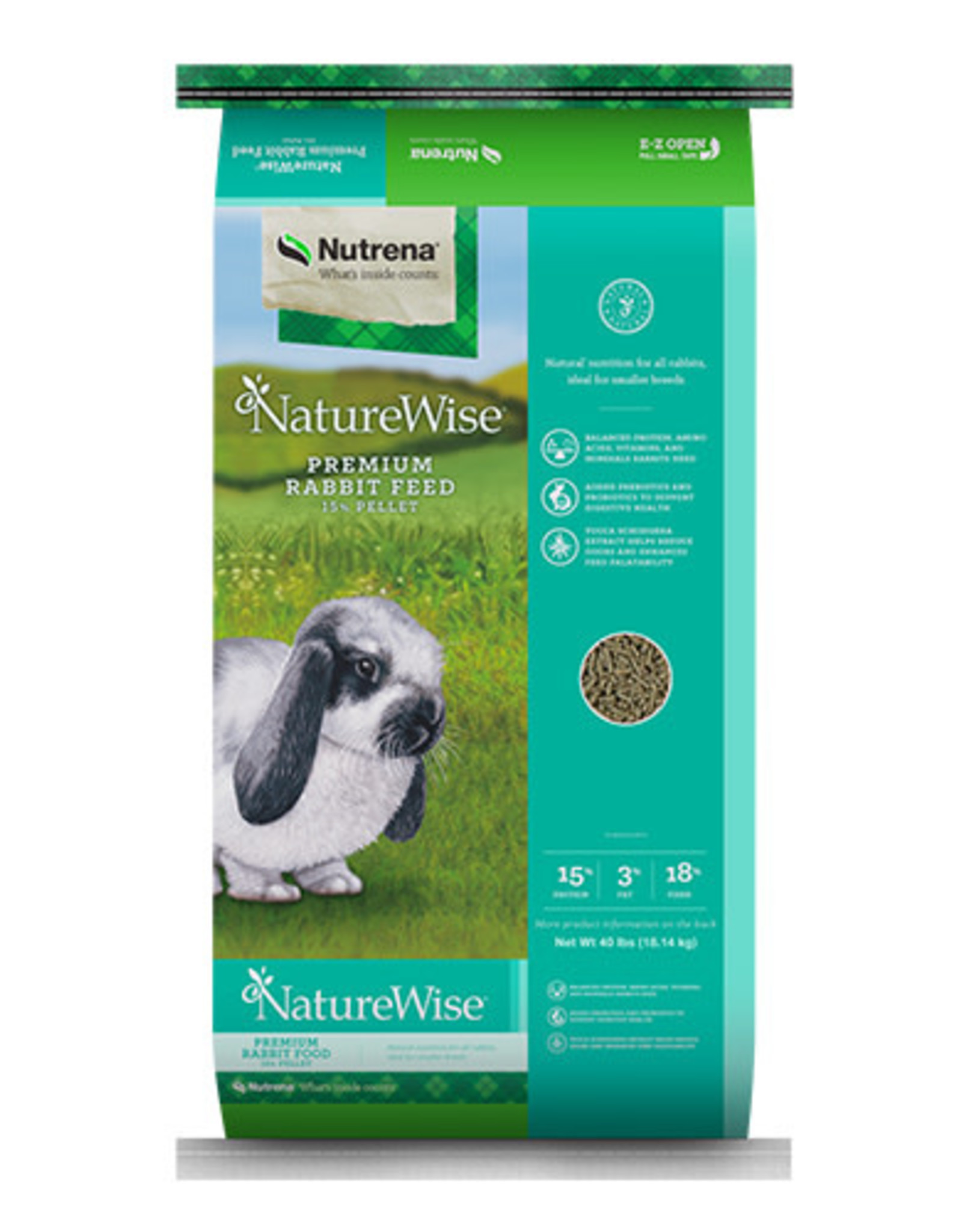 Nature Wise NW Rabbit 15% Premium 25lb