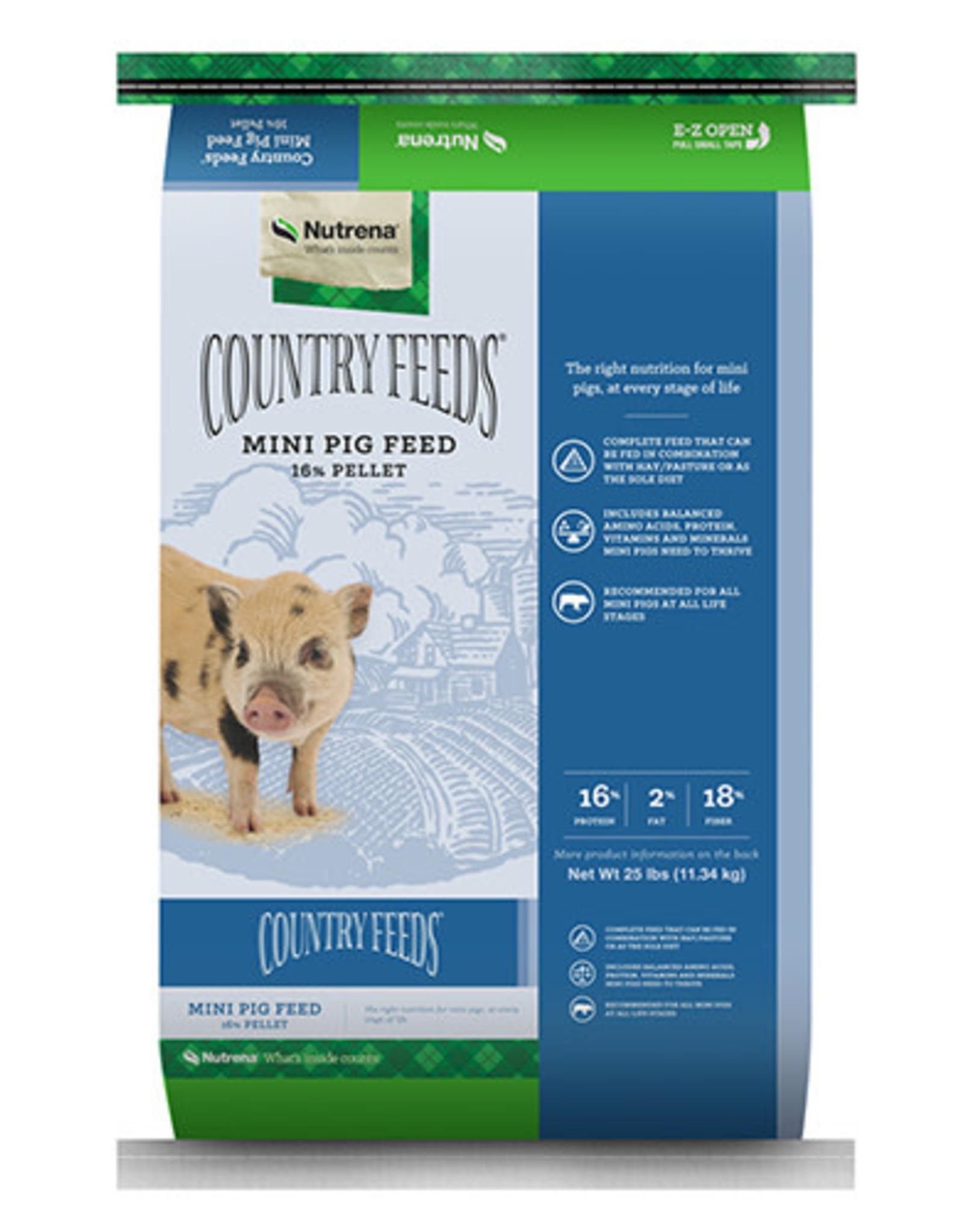 Country Feeds CF Mini Pig 16% Pellet 25lb