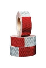 Red/Silver Reflective Tape