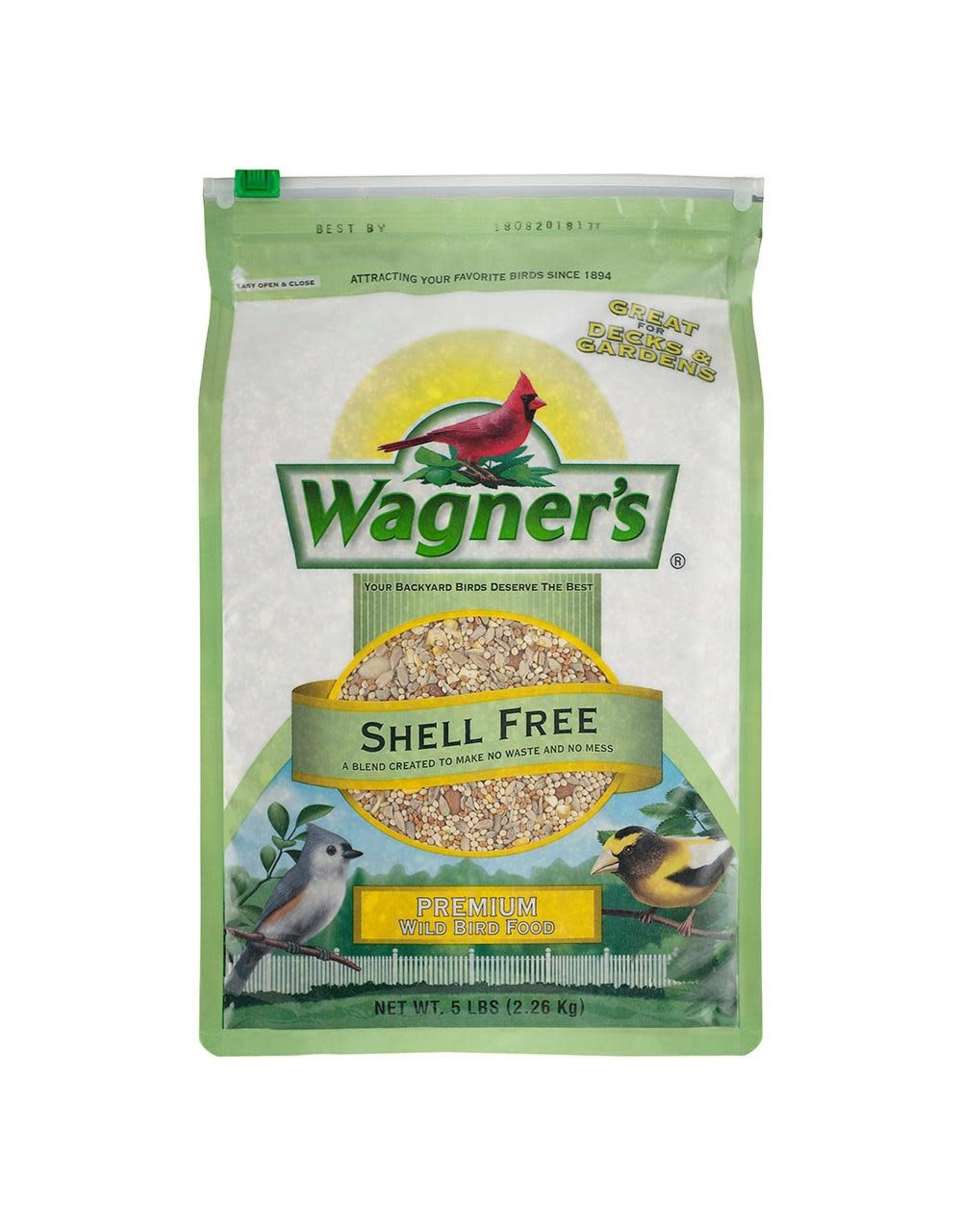 Premium Wild Bird Seed Mix 5lb