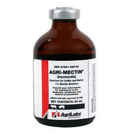 Agri-Mectin Cattle/Swine Injection 50-ML