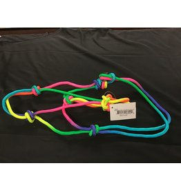 Partrade Rainbow Mini Horse Rope Halter