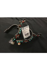 Metalab Southwest Collection Turquoise Starburst Ladies Spurs