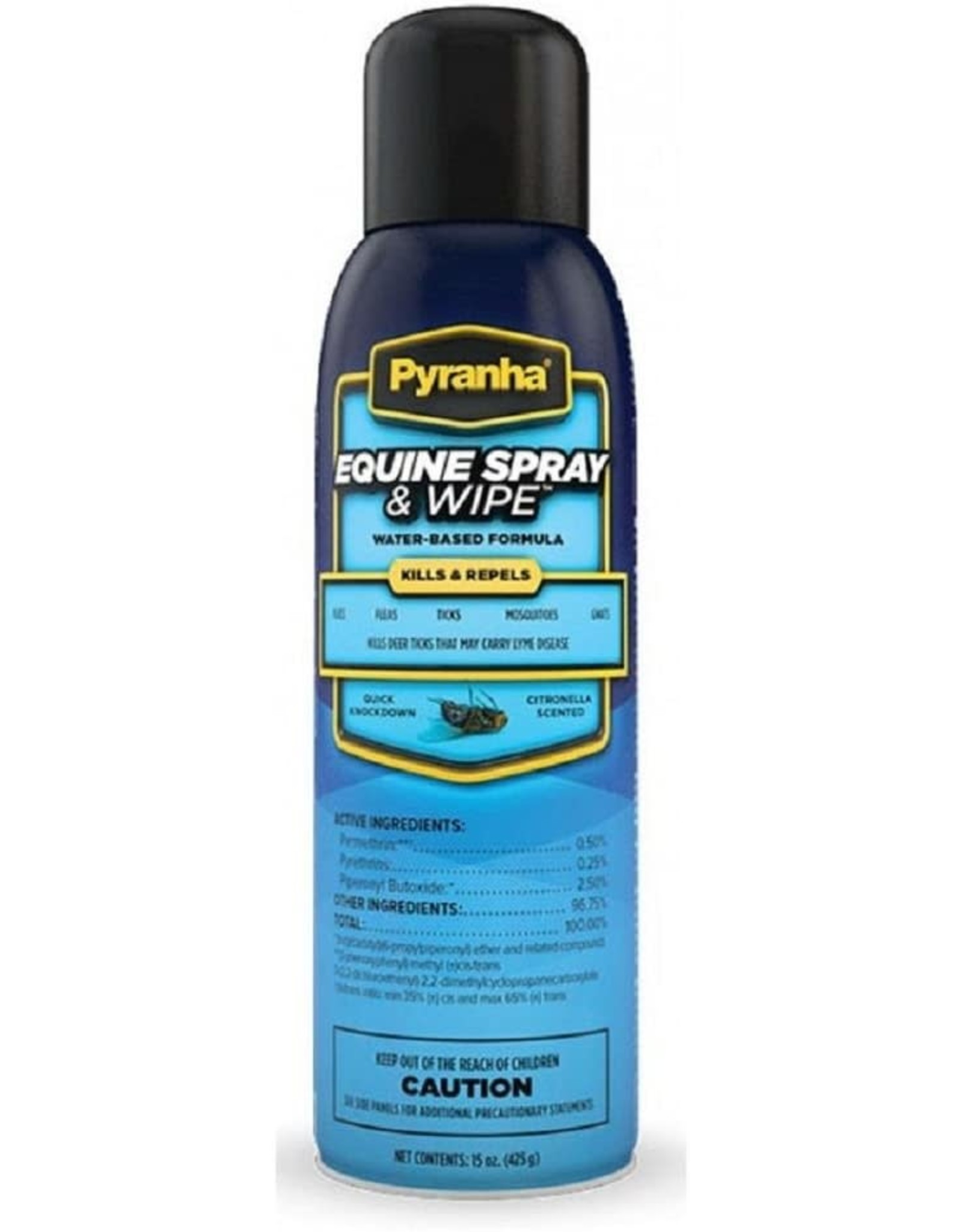 Pyranha Equine Spray & Wipe BOV Can
