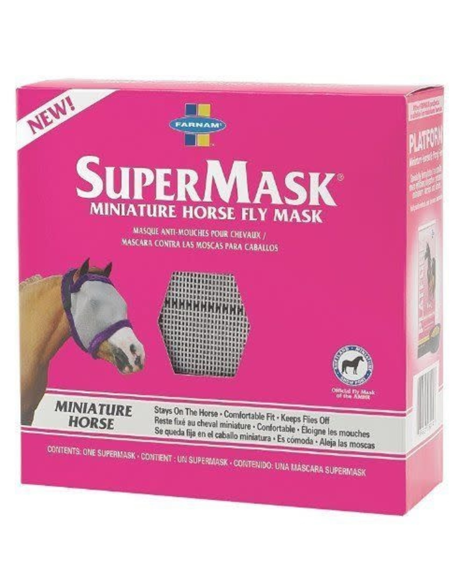 Supermask Miniature Horse Fly Mask