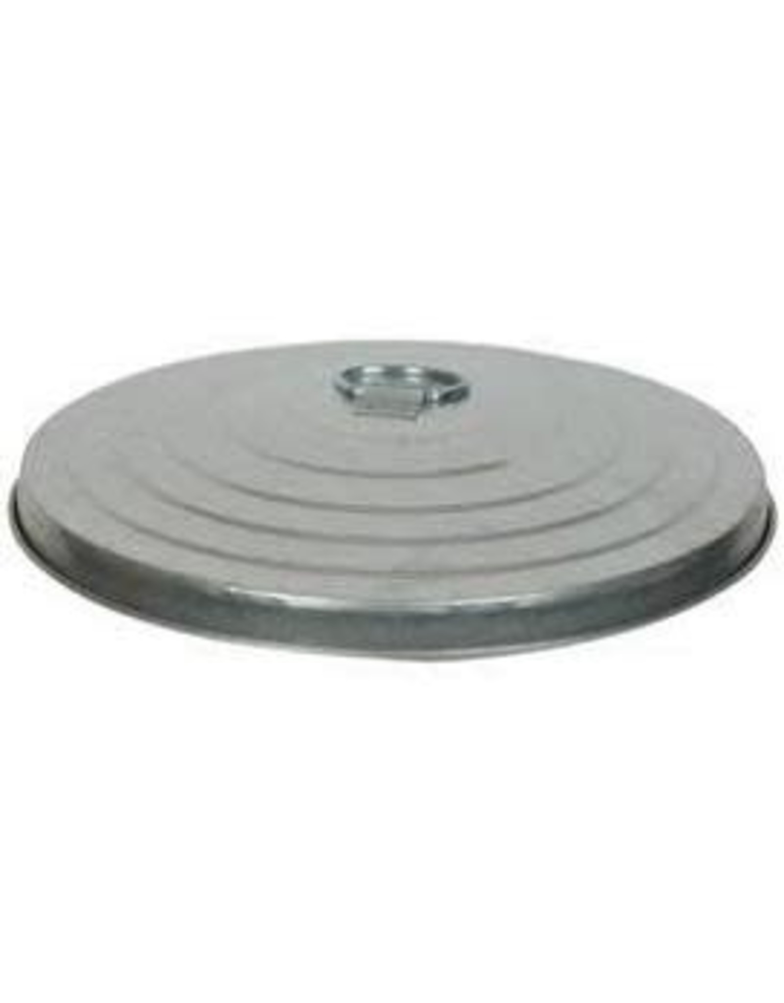 Lid Cover Galv 30 Trash Can