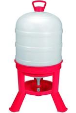 Chicken Waterer, Plastic Dome 8 Gallon Capacity