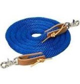 Nylon Blue Roping Rein