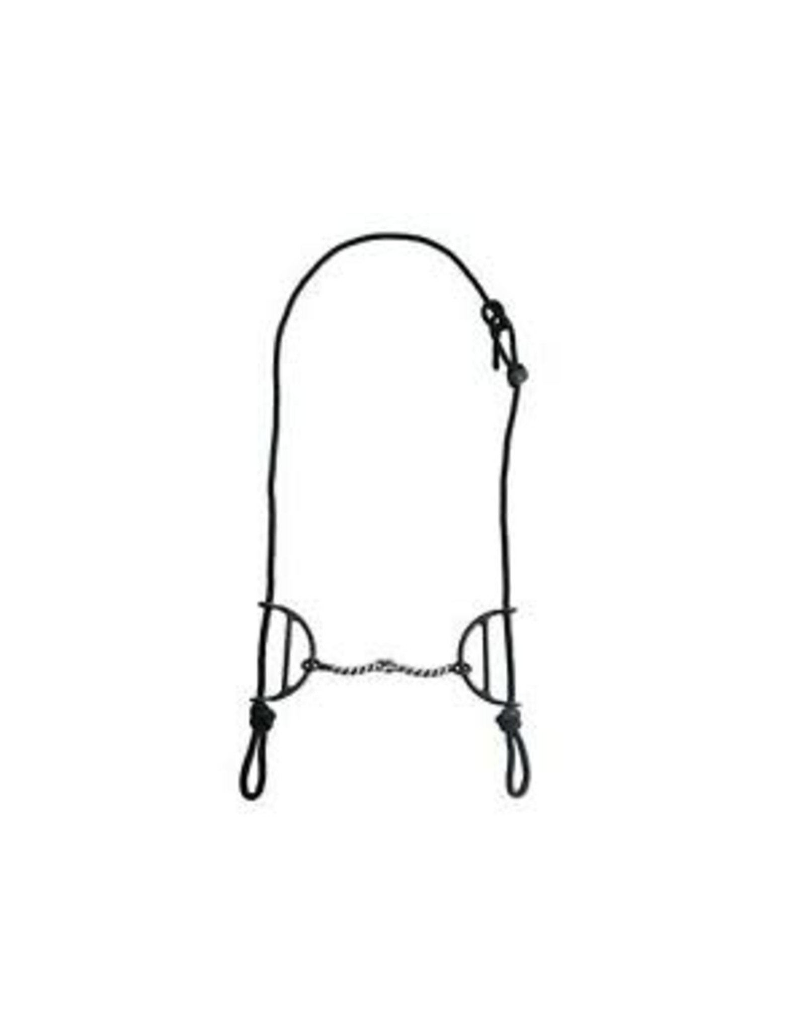Bit, Sliding Gag Silver Spots, Twisted Wire 173888