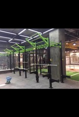 Pull-Up Cross Training Rig - 24' (Green Top)