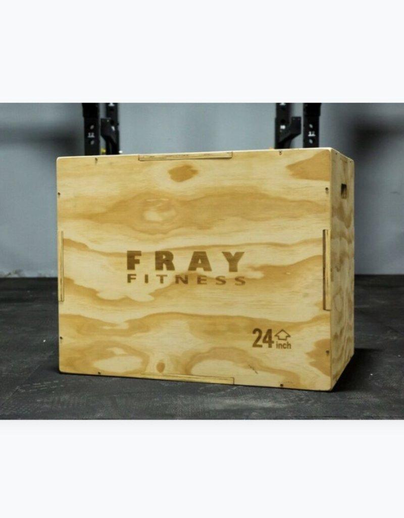 3 in 1 Wood Plyo Box 20'' 24'' 30''
