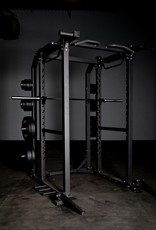 FHD1 Power Rack Black With Dual Landmines