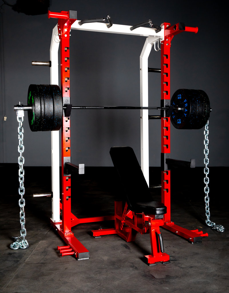 FHR2 Half Rack Red And White