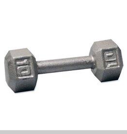 Cast Iron Hex Dumbbell - 10lb