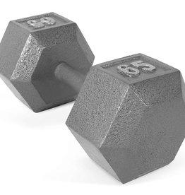 Cast Iron Hex Dumbbell - 65lb