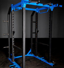 FHD2 Power Rack Blue  And Black With Dual Landmines