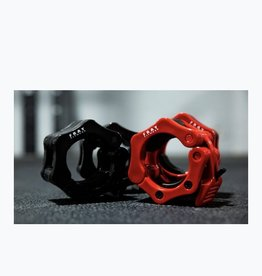 Barbell Clamp Collar Pair - Black