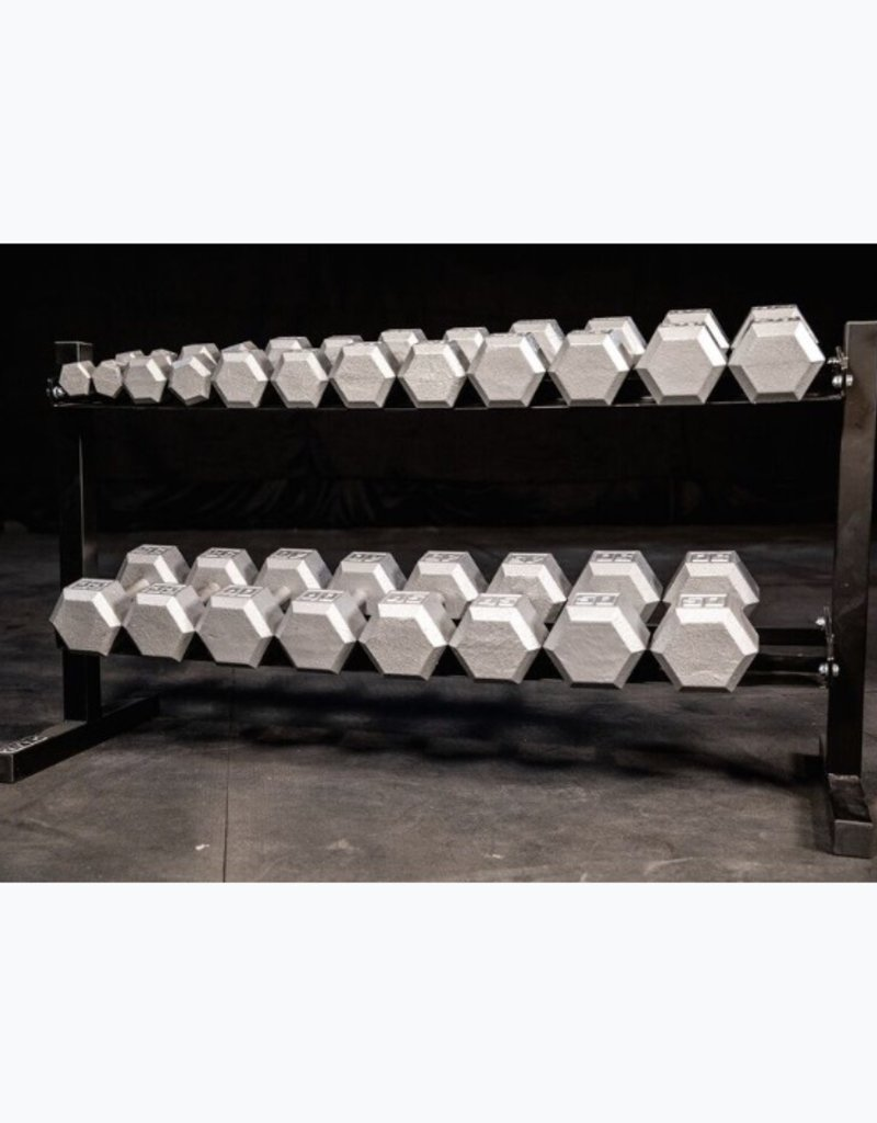 2 Tier Dumbbell Rack (holds 5-50)