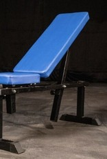 FAB-11B Medium Duty Adjustable Bench Blue Pads