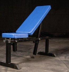FAB-11B Medium Duty Adjustable Bench Blue Pads