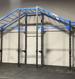 Pull-Up Cross Training Rig - 24' (Blue)