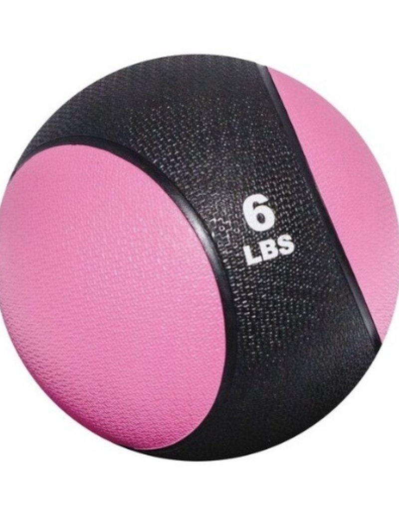 Rubber Medicine Ball - 6 lb