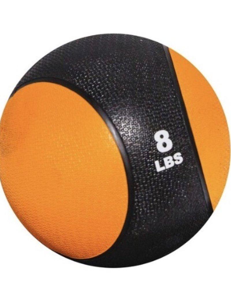 Rubber Medicine Ball - 8 lb