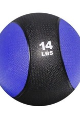 Rubber Medicine Ball - 14 lb