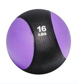 Rubber Medicine Ball - 16 lb