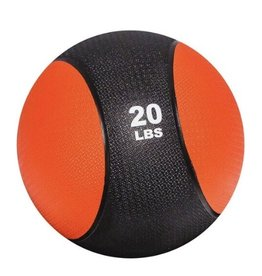 Rubber Medicine Ball - 20 lb
