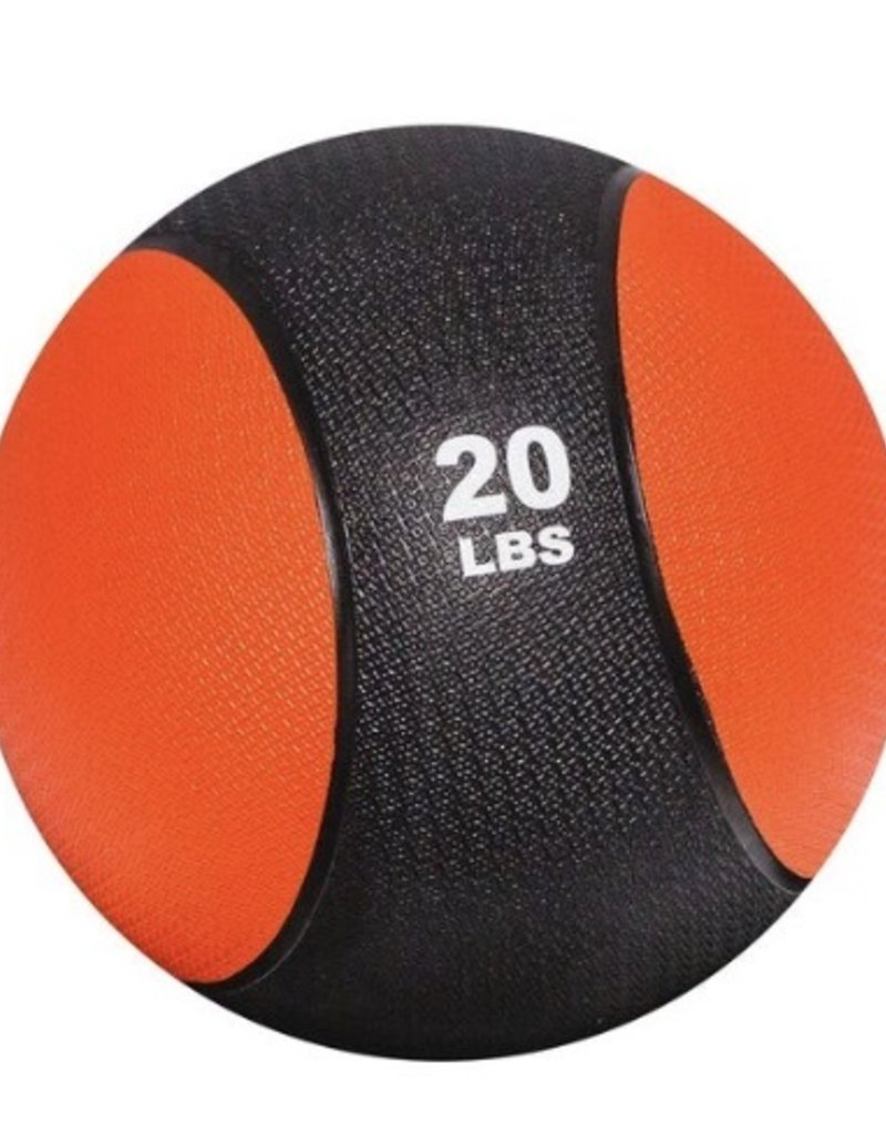 Rubber Medicine Ball - 20 lb