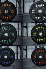 160LB Fray Crumb Rubber Bumper Plate Set
