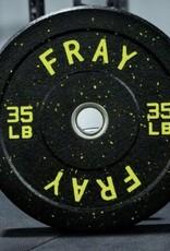 Crumb Rubber Bumper Plate - 35 lb