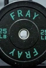 Crumb Rubber Bumper Plate - 25 lb