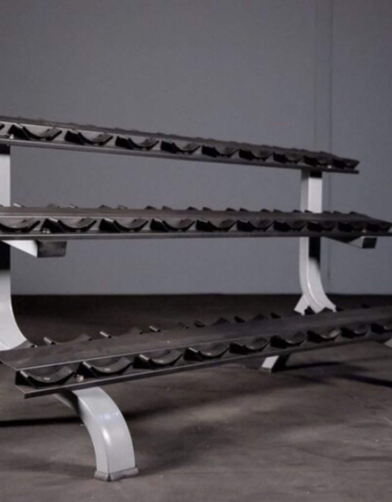 3 Tier Dumbbell Rack Saddle (15 Pairs) Commercial Line