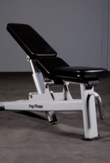 Adjustable Bench Commercial Line (Grey)