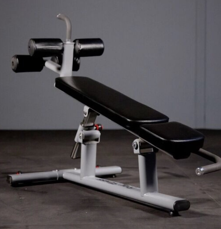 Adjustable Decline Ab Bench Commercial Line Fray Fitness
