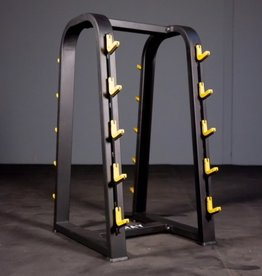 FBR2 Fixed Barbell Rack Black