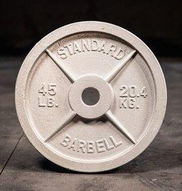 Cast Iron Plate (Standard)- 45 lb