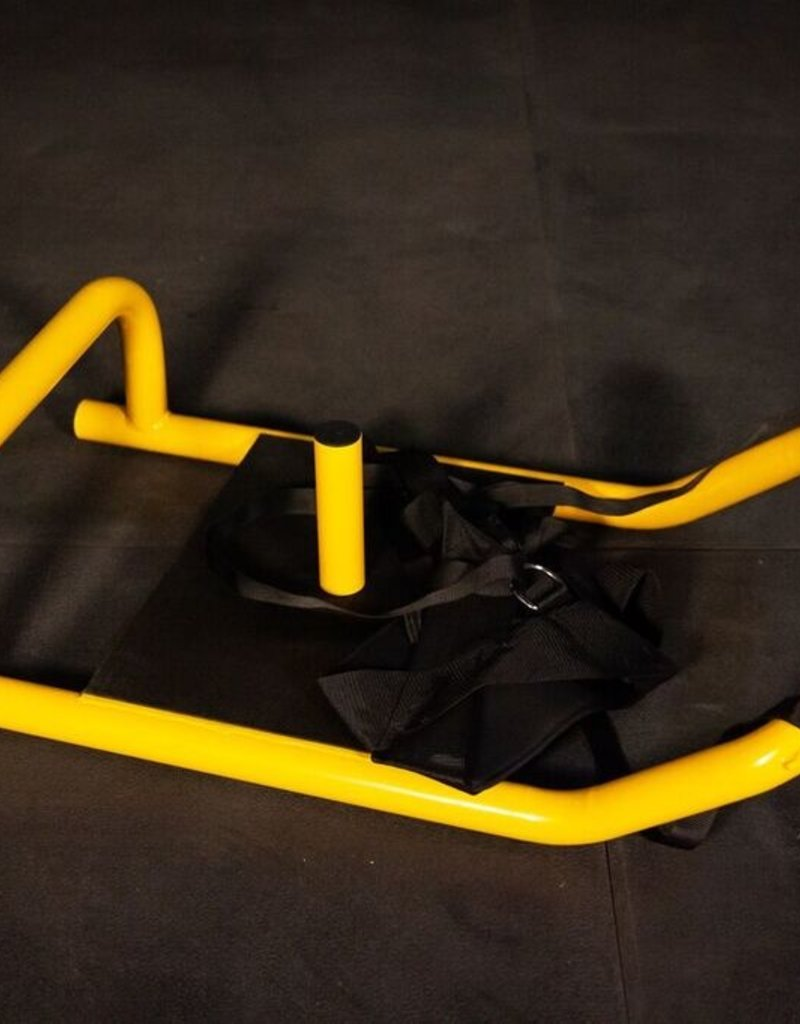 FS2 Push Pull Sled With Harness - Yellow