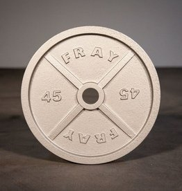 Fray Cast Iron Plate - 45 LB