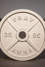 Fray Cast Iron Plate - 35 lb